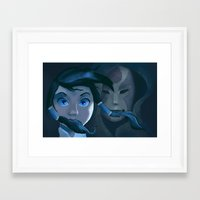 korra Framed Art Prints featuring Korra by Nokki