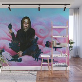 Nine lives Wall Mural