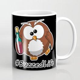 #BuzzedLife Drunk Owl Coffee Mug