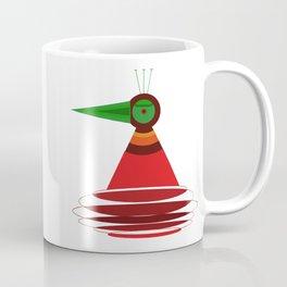 Peacock Elipse Coffee Mug