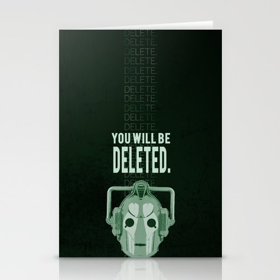 Doctor Who: Cybermen Print Stationery Cards