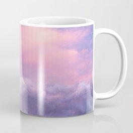 Sunset and Clouds   Blush Pink   Unicorn   Sky Coffee Mug