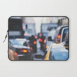 TAXI - CAB - CITY - CARS - PHOTOGRAPHY Laptop Sleeve