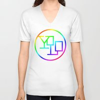 yolo V-neck T-shirts featuring Yolo  by Office Party