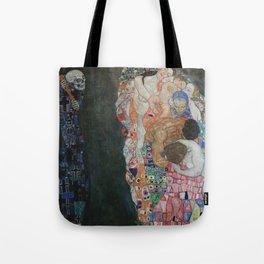 Life and Death - Gustav Klimt Tote Bag