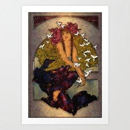 Angel Of Peace Art Print