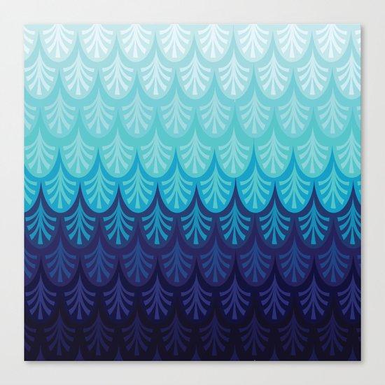 Arctic Ombre! Canvas Print