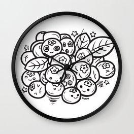 Team Blueberries Wall Clock