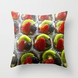 Sweet Tarts Throw Pillow