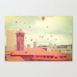 Portland Oregon Canvas Print