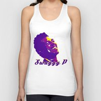 lakers Tank Tops featuring Swaggy by SUNNY Design