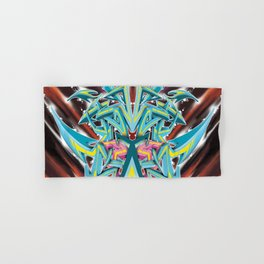 Abstract Graff Hand & Bath Towel