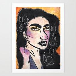 My Feelings Art Print