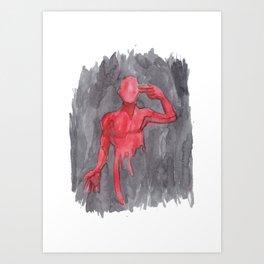 Last Man Out Art Print