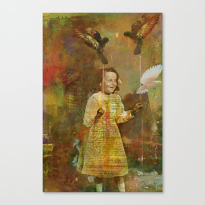Let the birds go Canvas Print