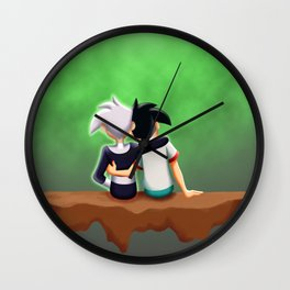 Danny Phantom: Sitting in the Ghost Zone Wall Clock