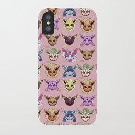 Eeveelutions Pink iPhone Case