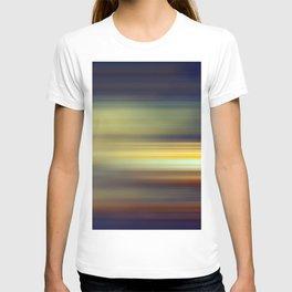 purple abstract T-shirt