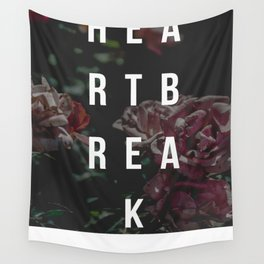 """The Heartbreak Sessions"" Wall Tapestry"