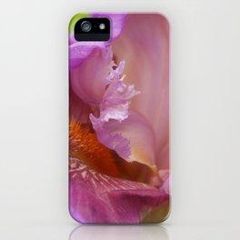 Crested Iris iPhone Case