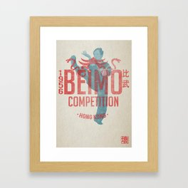 BEIMO - King of Talking Hands  Framed Art Print