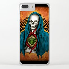 Skull of War Clear iPhone Case