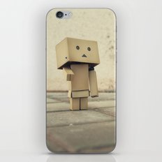 Danbo on the street iPhone & iPod Skin