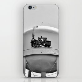 Worker On Tower iPhone Skin