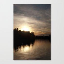 Northern Sunset 004 Canvas Print