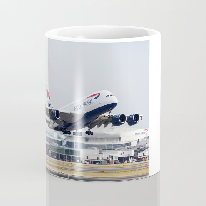 British Airways A380 Coffee Mug