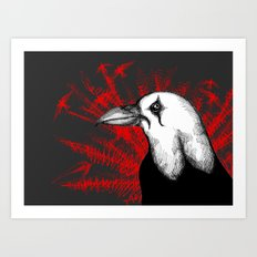 The Crow Crow Art Print