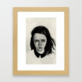 Mallory Framed Art Print