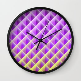 Deep Magic Grid 02 Wall Clock