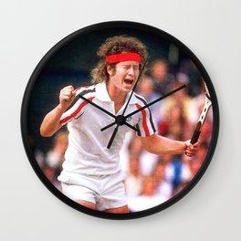 McEnroe Tennis Wall Clock