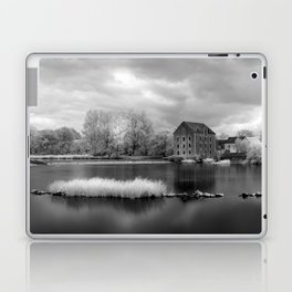 France, A Weir on the Mayenne River (version 2) Laptop & iPad Skin