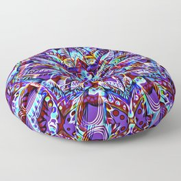 Divine Intention 3: Purple Floor Pillow
