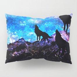 Wolf Trio Pillow Sham