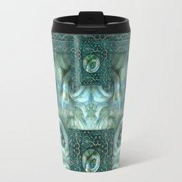 """Blue baroque astral fantasy"" Travel Mug"