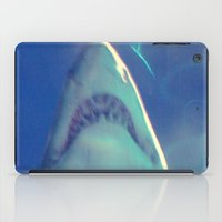 jaws iPad Cases featuring Jaws by Bunhugger Design