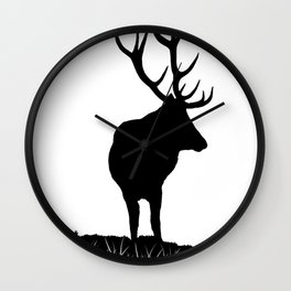 Monarch Of The Park Wall Clock