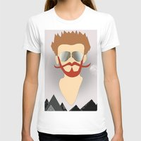 the dude T-shirts featuring Dude by DM Davis