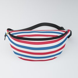 Patriotic Stripes Fanny Pack