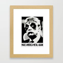 make america Framed Art Print