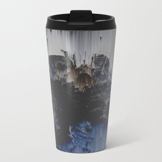 Fossilized Metal Travel Mug