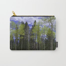 Spring in Aspen Country Carry-All Pouch