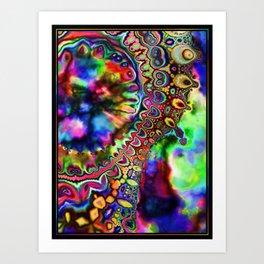 Ride The Rainbow Art Print