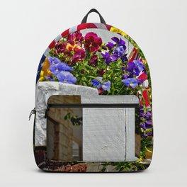 Flags & Flowers Backpack