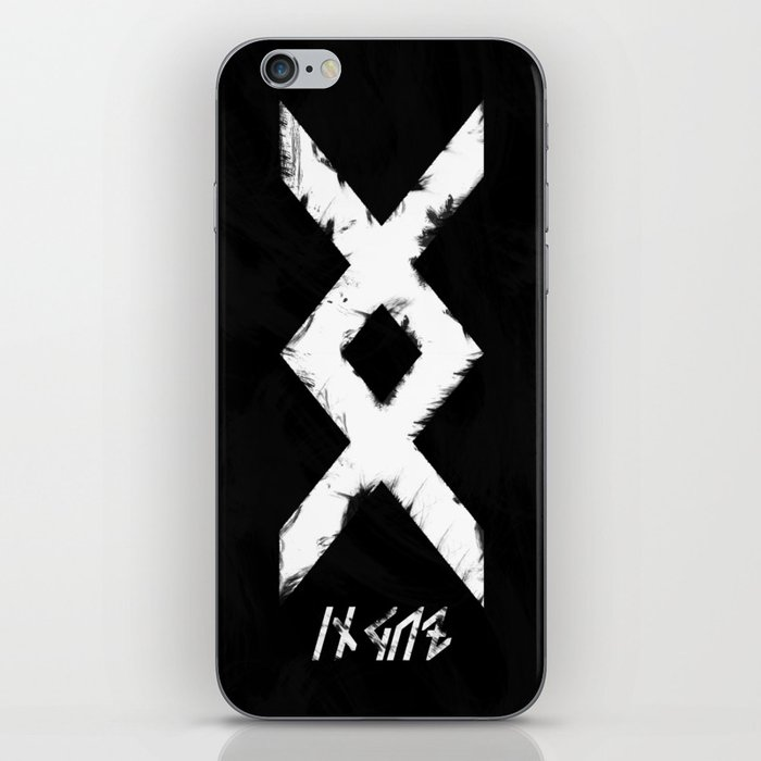 Inguz Viking Symbol Iphone Skin By Suryaeyes Society6