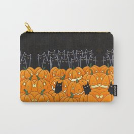 Black Cats and Jack o Lanterns Carry-All Pouch