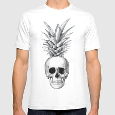 Pineapple Head Mens Fitted Tee MEDIUM White